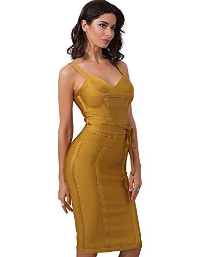 Adyce schwarze bandage kleid sexy hochzeitskleid ?rmellose abendhochzeitskleider midi eleganten luxus partyhochzeitskleid slim fit. Gold