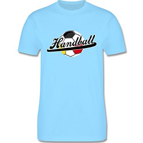 Handball - Handball Deutschland - Herren Premium T-Shirt Hellblau