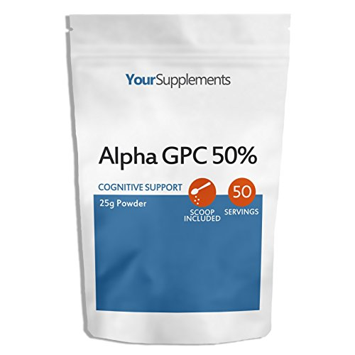Your Supplements - Alpha GPC 50% Powder - Pack of 25g Powder Test