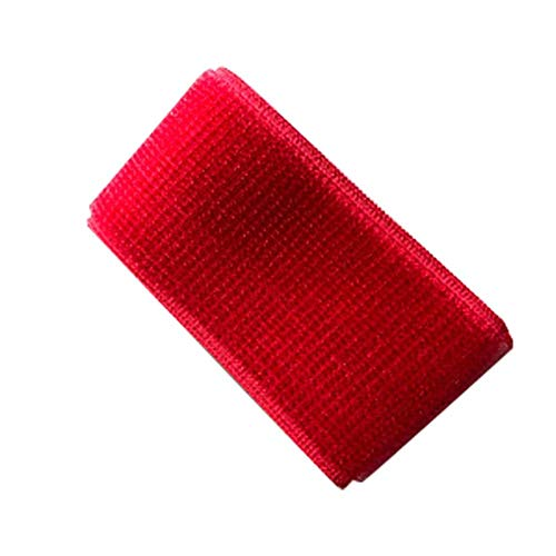 3-Legged Race Gürtel elastisches Zugseil mit Klettverschluss für Staffelrennen, Karneval, Feldtag, Hinterhof, Familientreffen