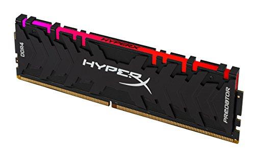 HyperX Predator HX429C15PB3A/8 Memoria 8 GB, DDR4, RGB, 2933 MHz, CL15, DIMM