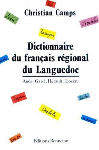 Dictionnaire du français régional du Languedoc