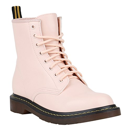 Coole Worker Boots Kinder Outdoor Stiefeletten Profil Sohle Schuhe 150317 Rosa Brito 40 Flandell