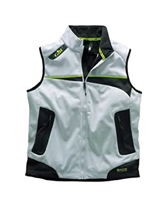 Gill Race Soft Shell Gilet - RC005 Silver/Graphite Size-- - XXLarge