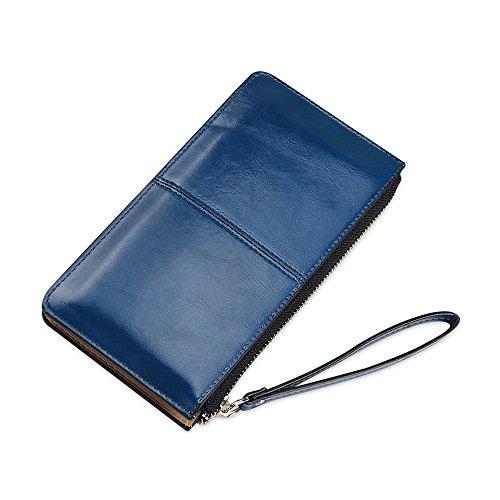 Organizzatore per porta carte passaporto per passaporto Profondo blu
