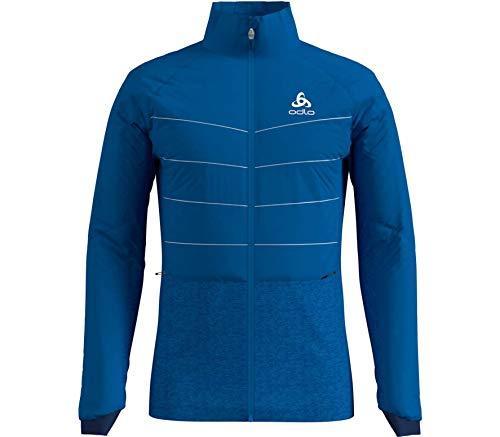 Odlo Herren Jacket Millennium S-Thermic Jacke, Directoire Blue, M