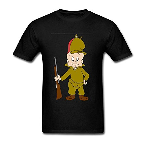 herrens-elmer-fudd-short-cotton-t-shirt-small