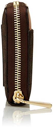 Michael Kors Mercer, Portafoglio Donna, 17.8 x 10.2 x 2.5 cm (W x H x L) Marrone