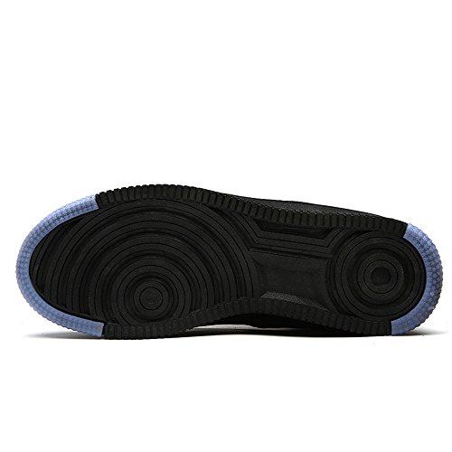 Schuhe Herren Damen Sneaker Laufschuhe Schnür Sportschuhe Skateboardschuhe Schwarz Rot Weiß Schwarz