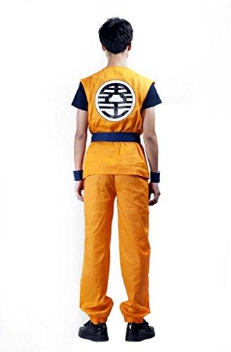 Imagen de mtxc goku para hombre para adultos son disfraz para hombre de 1st ver alternativa