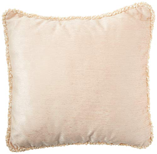Glenna Jean Victoria Pillow with Cord, Tan Velvet by Glenna Jean -