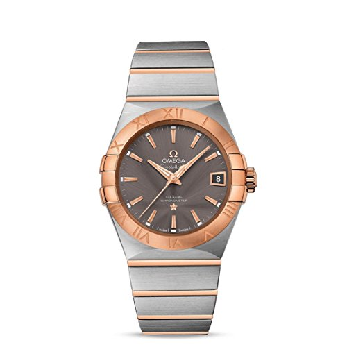 OMEGA MEN'S CONSTELLATION 38MM STEEL CASE AUTOMATIC WATCH 123.20.38.21.06.002
