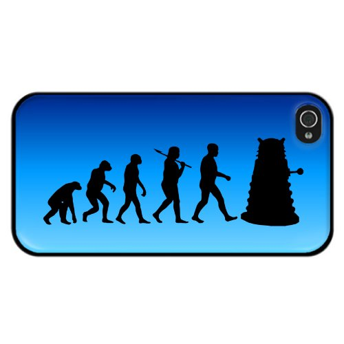 Evolution eines Mutant Design Cyborg iPhone 5 und 5S Hülle - Dr Who Mutanten