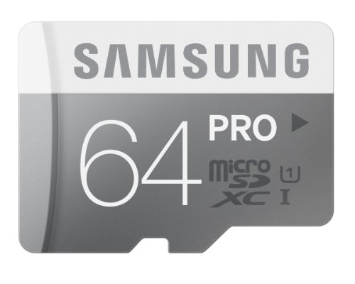 Samsung Pro 64GB UHS-1 Class 10 Micro sdhc Memory Card with Adapter