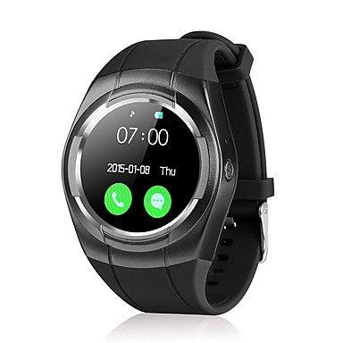 Lemumu T60 Schickes Armband/Smart Watch/Wasserdicht Nachricht Erinnerung Smar twatch Herzfrequenzmesser Schrittzähler Armbanduhr zu Ios Android, Rose (Michael Kors Rose Gold Herren Uhr)