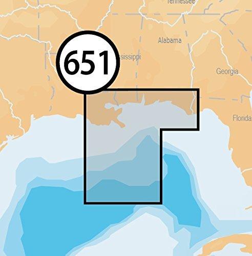 Navionics Platinum Plus 651P+ Central Gulf of Mexico Marine Charts on SD/MSD by Navionics Marine Charts
