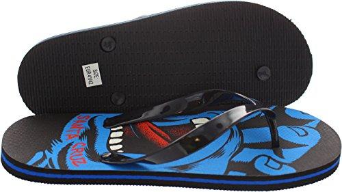 Santa Cruz Mann Sandale ~ Schreien hand5 Black