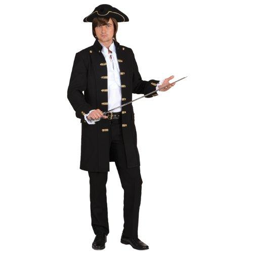 Orlob NEU Herren-Jacke Pirat de Luxe, schwarz Gr. 46-48