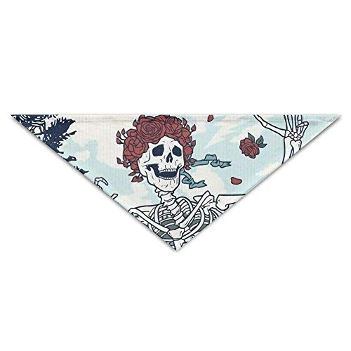 Sdltkhy Rose Skull Tortoise Triangle Pet Scarf Dog Bandana Pet Collars Dog Cat - Birthday