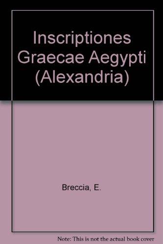 Inscriptiones Graecae Aegypti (Alexandria)