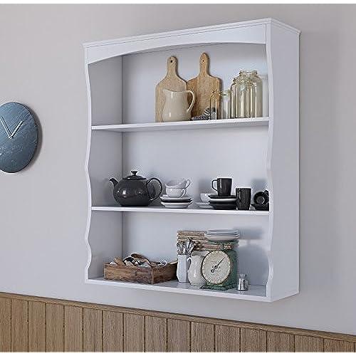 wall shelves for kitchen amazon co uk