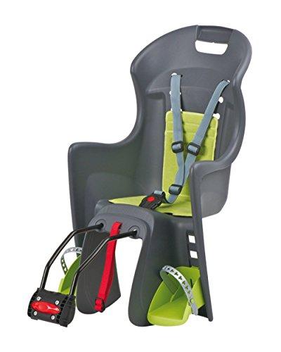 Polisport Kindersitz Boodie, dark grey / green, 8630400027