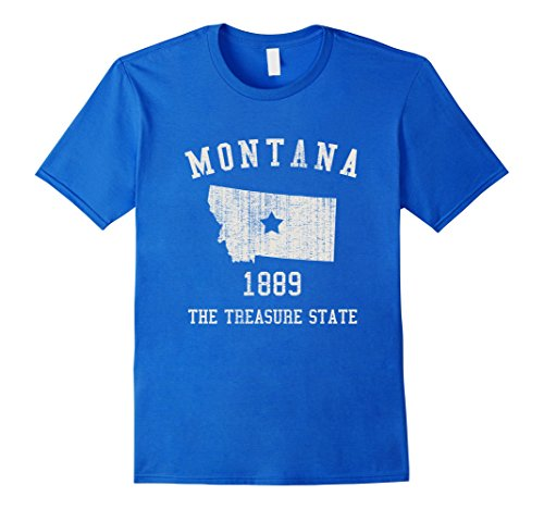 montana-the-treasure-state-vintage-t-shirt-herren-grosse-m-konigsblau