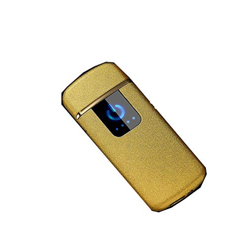 Preisvergleich Produktbild AXCJJ Zigarettenanzünder,  Fingerabdrucksensor Zigarettenanzünder,  USB-Zigarettenanzünder,  kreativer winddichter Zigarettenanzünder,  Freund senden, E, 7.4 * 3.1 * 0.7
