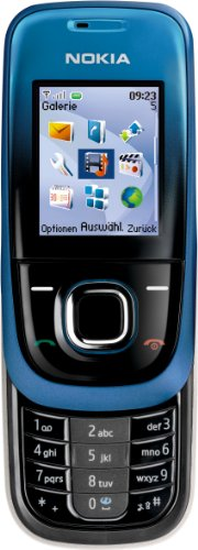 Nokia 2680 Slide Night Blue (GPRS, VGA-Kamera, UKW-Stereo-Radio, Bluetooth, Organizer) Handy -