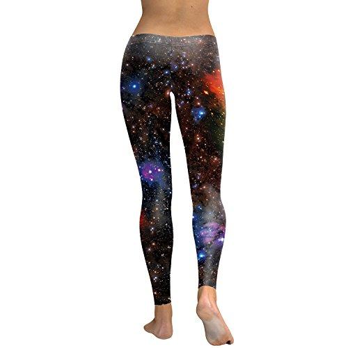 Alive Damen Leggings One size Nebula