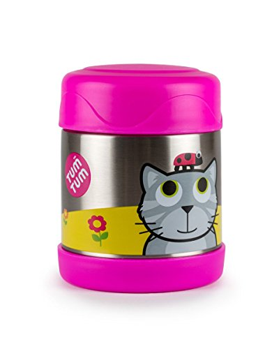 TUM TUM Thermal Food Flask (Pink (Bluebell))