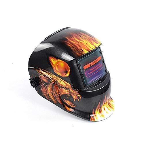 Schweißmaske Automatische Schweißmaske Schweißer Face Wearing Flame Welding Cap -