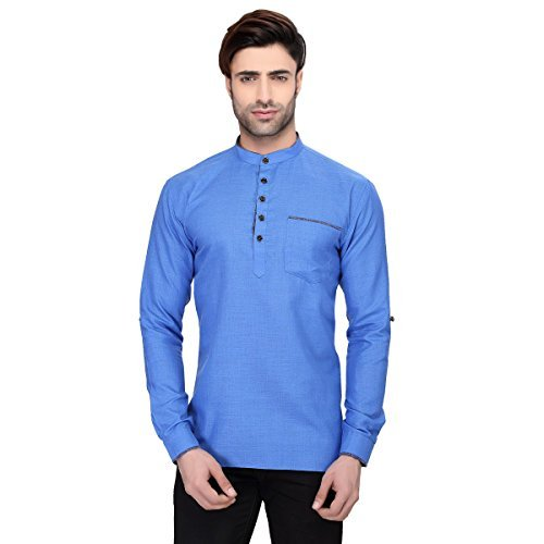 rg-designers-mens-full-sleeve-short-kurta-avsonapocket-blue