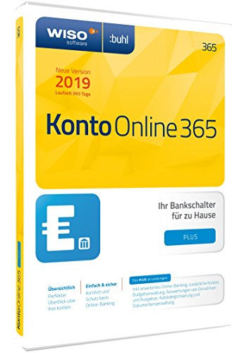 WISO Konto Online Plus 365 (aktuelle Version 2019)
