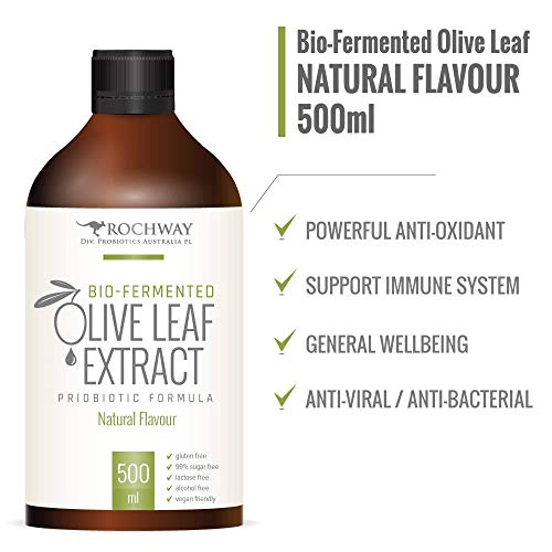 Papaya Leaf (Organic Olive Leaf Extract with Papaya and Pomegranate. by Rochway)