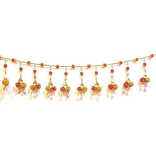 Ratna Door Decoration Toran Flower Crystal Beads Bandhanwar  sc 1 st  Amazon.in & Door Decorations Torans: Buy Door Decorations Torans Online at Best ...