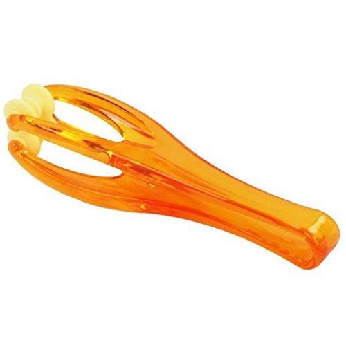 Demarkt massage à articulation de doigt de la main avec rouleaux en plastique orange
