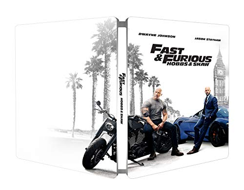 Fast & Furious: Hobbs & Show - Steelbook 4K Ultra Hd  (2 Blu Ray)