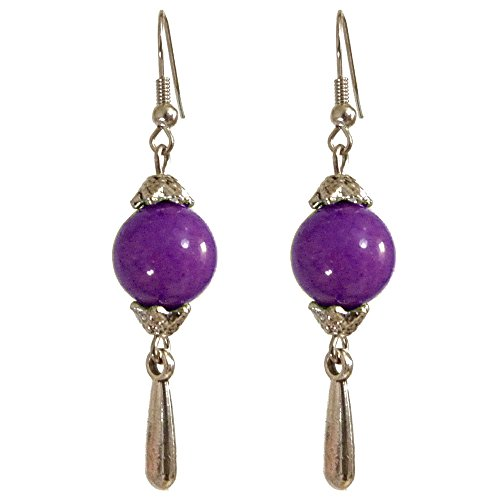 boucles-doreilles-femme-pendantes-ethnique-goutte-argent-tibetain-et-perles-pierre-violette