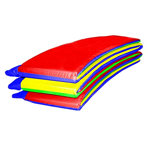 Baunsal GmbH & Co.KG Randabdeckung Federabdeckung Randschutz Abdeckung Multicolor für Trampolin 396 bis 400 cm