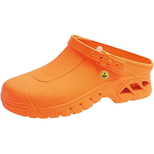 Abeba Herren Sicherheitsschuhe Orange Orange 35 EU Orange