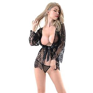 Hansee 2018 Mode Damen Dessous Unterwäsche Nachtwäsche Nachtwäsche Kleid G-String Versuchung