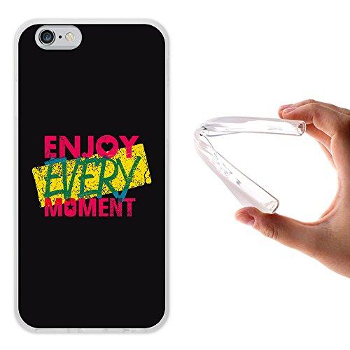 iPhone 6 6S Hülle, WoowCase Handyhülle Silikon für [ iPhone 6 6S ] Carpe Diem Handytasche Handy Cover Case Schutzhülle Flexible TPU - Transparent Hülle iPhone 6 6S iPhone 6 6S D0204