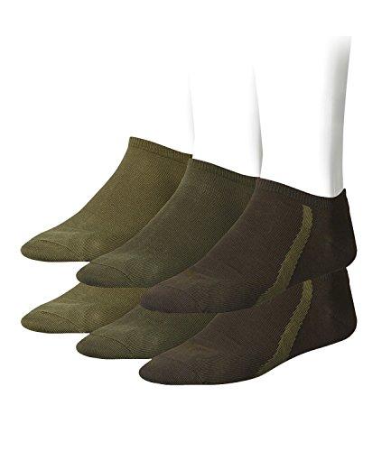 PUMA Unisex Ring Sneaker Sneakers Sportsocken Socken 6 Paar 201203001, Sockengröße:43-46;Artikel:-799 peat -