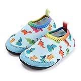 Laiwodun Zapatos de Agua niño Bebe Zapatos de Natación Descalzo Aqua Calcetines Piscina Playa Césped Parque acuático Vacacionado en Varias