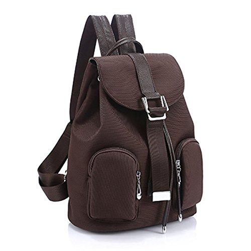 9f83427af95f4 Panegy Damen Mädchen Mode Schulrucksack Zwei Tasche-Rucksack Canvas  Schultasche Leinwand Laptop Reisen einfach Rucksack ...