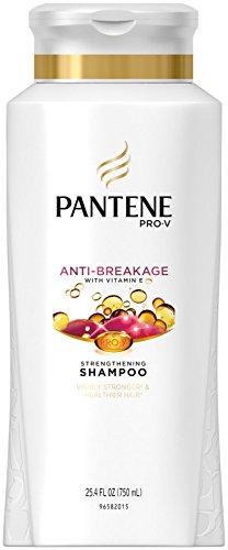Pantene Shampooing fortifiant Pro-V Breakage to Strength - Renforce les cheveux pour éliminer les fourches - Cheveux moyens à épais - 750 ml