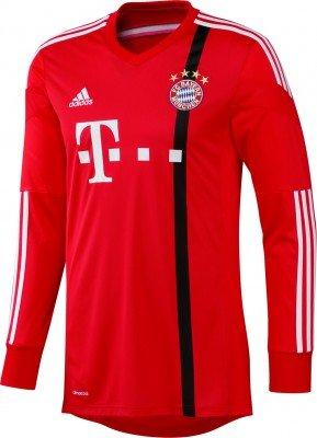 adidas Herren Torwarttrikot FC Bayern Goalkeeper Ausweich, Poppy/Black/White, S, G92482
