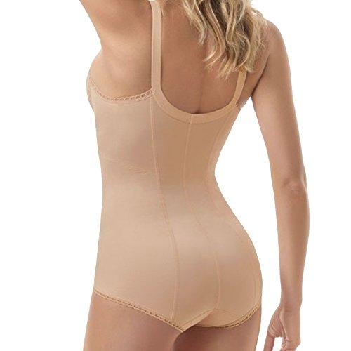 Body Modellatore snellente intimo contenitivo donna body donna Art. 811 NUDO