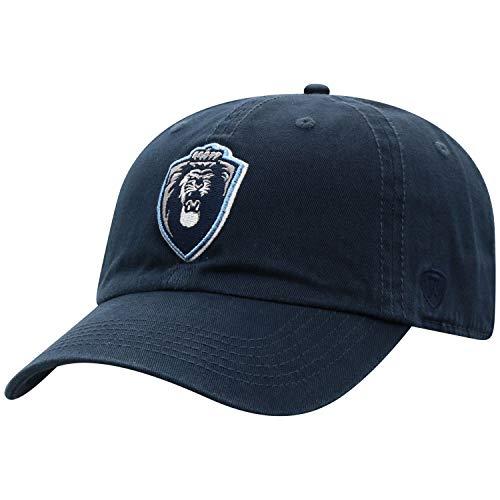 Top of the World NCAA Herren Baseballmütze, Relaxed Fit, größenverstellbar, Herren, Relaxed Fit Adjustable Hat Team Color Primary Icon, Navy, Einstellbar